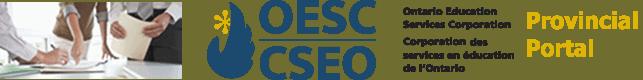 OESC Ontario Education Services Corporation Provincial Portal banner logo